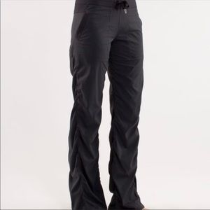 lulu lemon studio lined pants